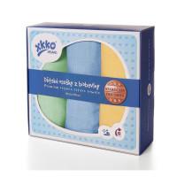 Osušky z biobavlny XKKO Organic 90x100 - Staré časy Pastels For Boys