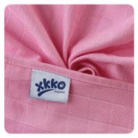 Dětské pleny z biobavlny XKKO Organic 70x70cm - Staré časy Pastels for Girls 5x5ks VO bal.