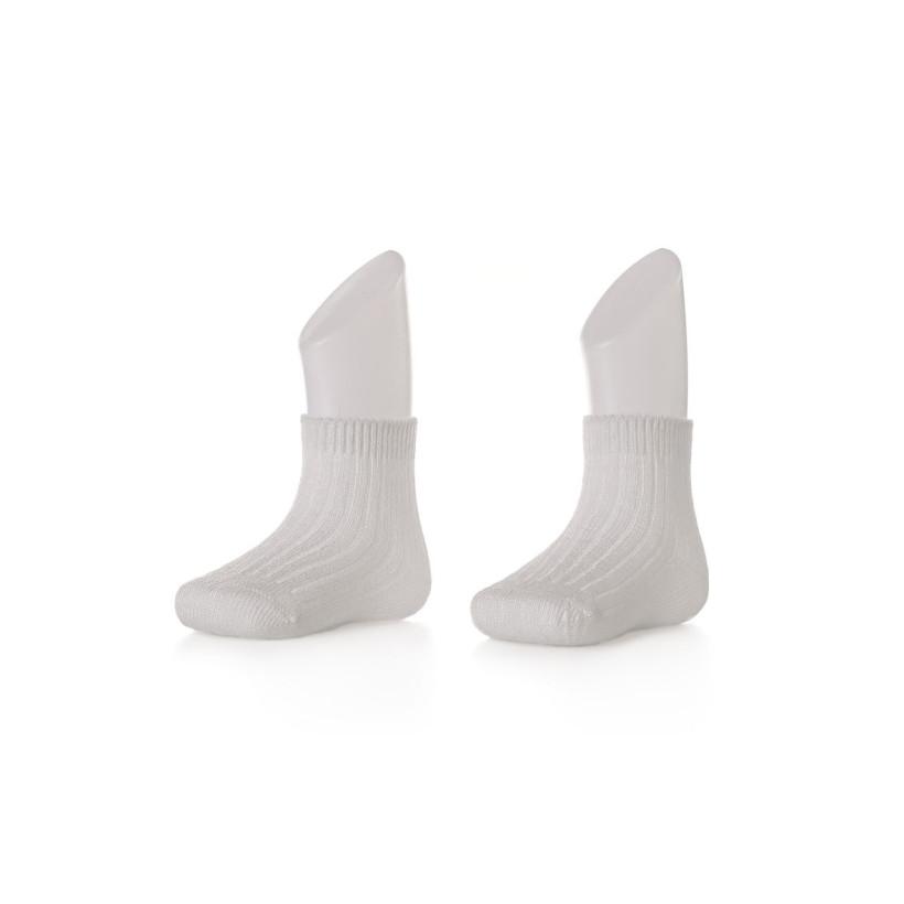Ponožky XKKO BMB Pastels White