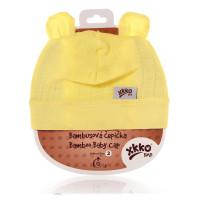 Bambusová čepička XKKO BMB - Lemon 3x1ks VO bal.