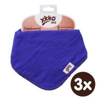 Bambusový slintáček XKKO BMB - Ocean Blue 3x1ks VO bal.