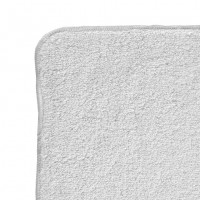 BIO bavlněné froté ubrousky XKKO Organic 21x21-  Bílé