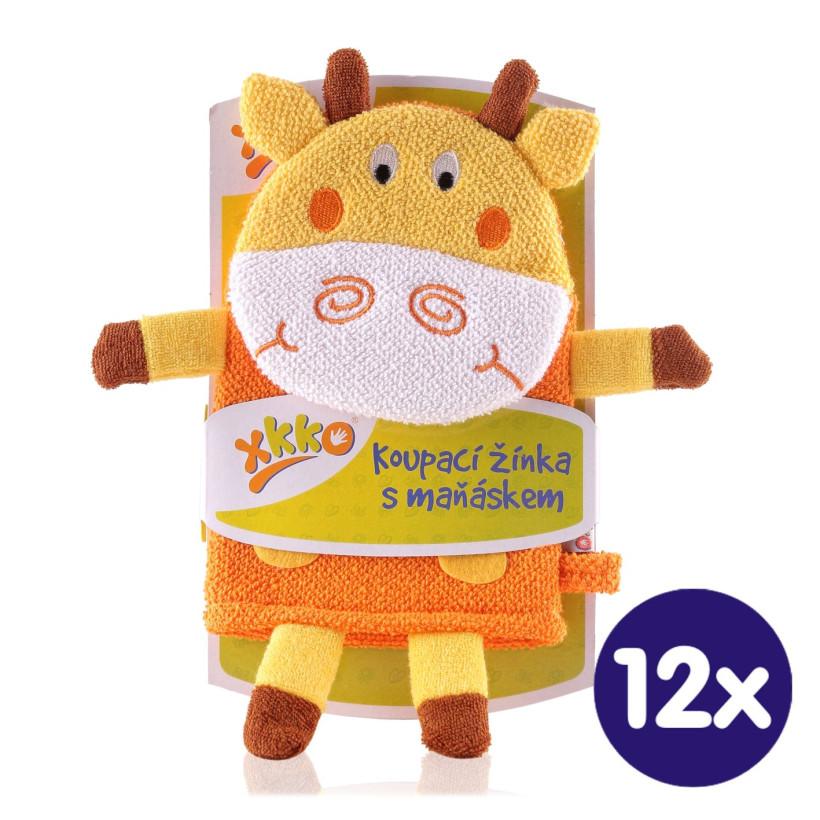 XKKO Žínka s maňáskem (BA) - Žirafa2  12x1ks VO bal.