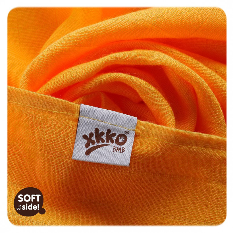 Bambusové pleny XKKO BMB 70x70cm - Colours 10x3ks VO bal.