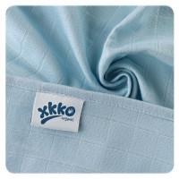 Dětské pleny z biobavlny XKKO Organic 70x70cm Staré časy Pastels for Boys