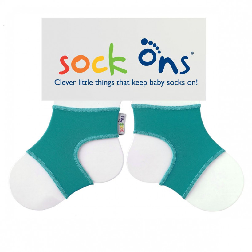 Sock Ons Bright - Turquoise