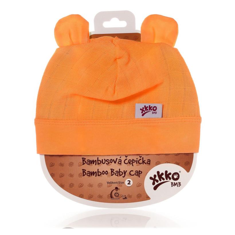 Bambusová čepička XKKO BMB - Orange