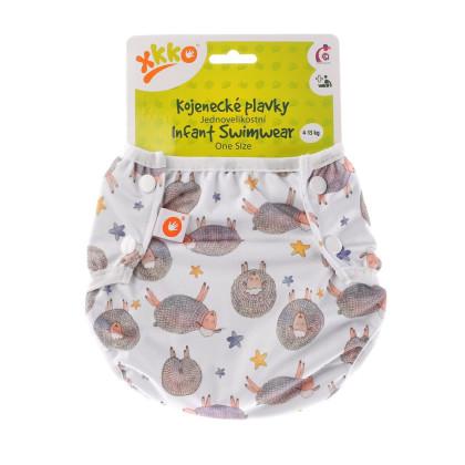 Jednovelikostní kojenecké plavky XKKO - Dreamy Sheeps