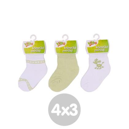 Ponožky KIKKO Classic Typ 36 12 párů