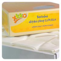 Vysokogramážní dětské pleny XKKO LUX ECO 70x70 - Natural 20x10ks Velkoobchodní balení