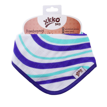 Bambusový slintáček XKKO BMB Ocean Blue Waves