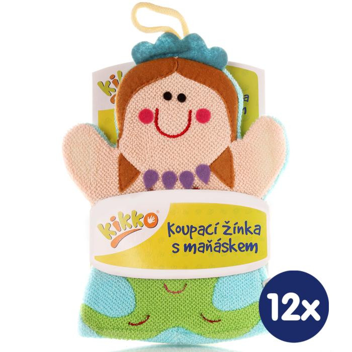 XKKO Žínka s maňáskem (BA) - Mořská panna 12x1ks VO bal.