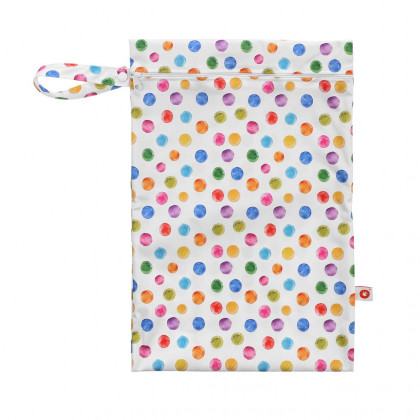 Nepromokavý pytlík XKKO Velikost M - Watercolour Polka Dots