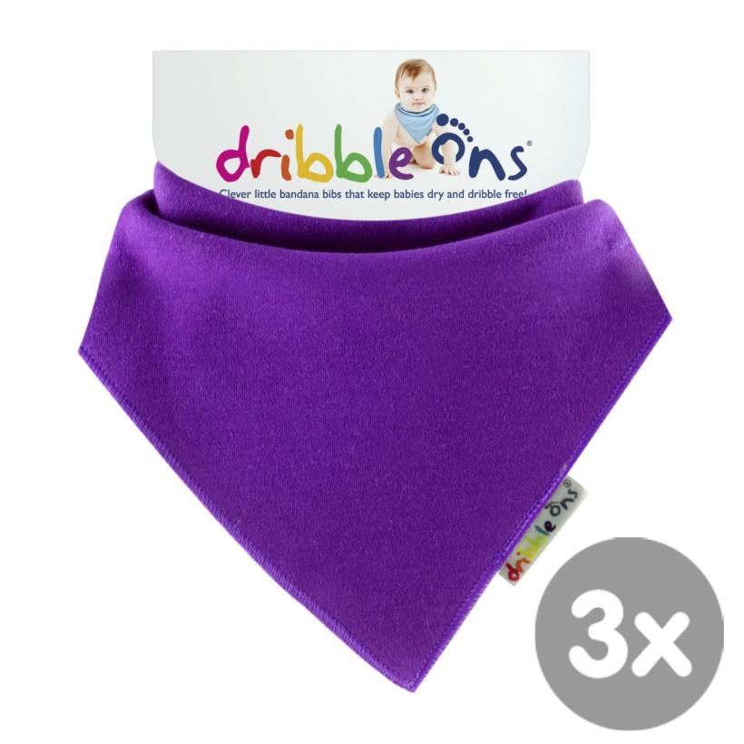 Dribble Ons Bright - Grape 3x1ks VO bal.