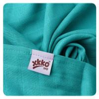 Bambusová osuška XKKO BMB 90x100cm - Turquoise 10x1ks VO bal.