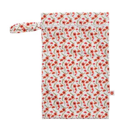 Nepromokavý pytlík XKKO Velikost M - Red Poppies