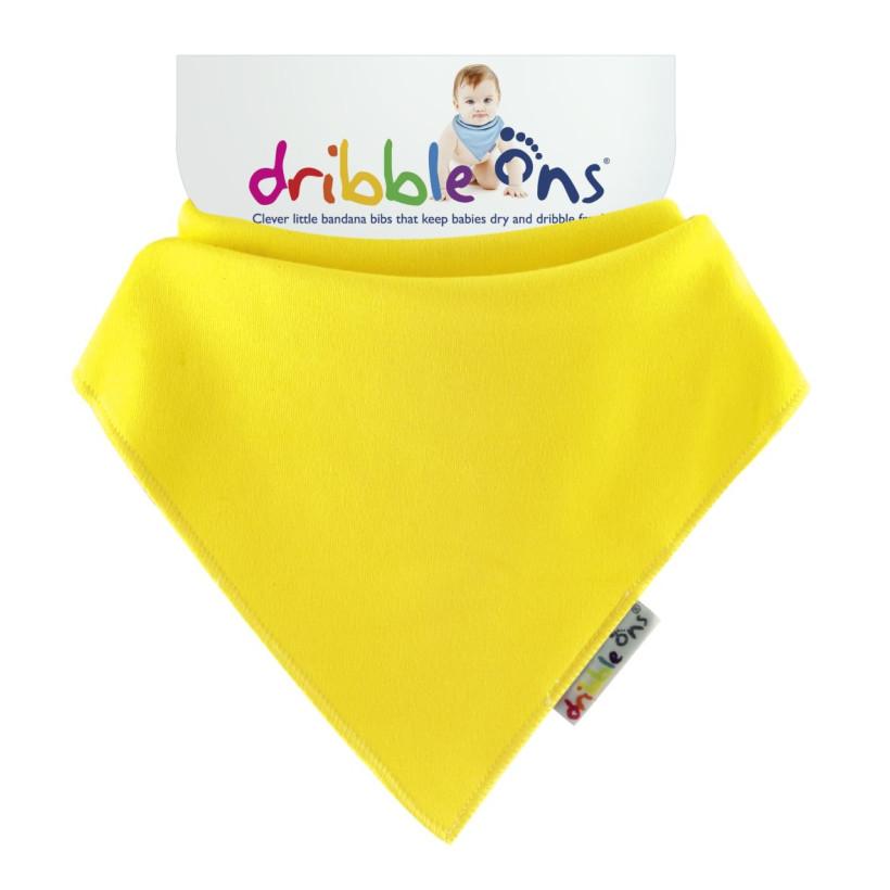 Dribble Ons Brights Lemon