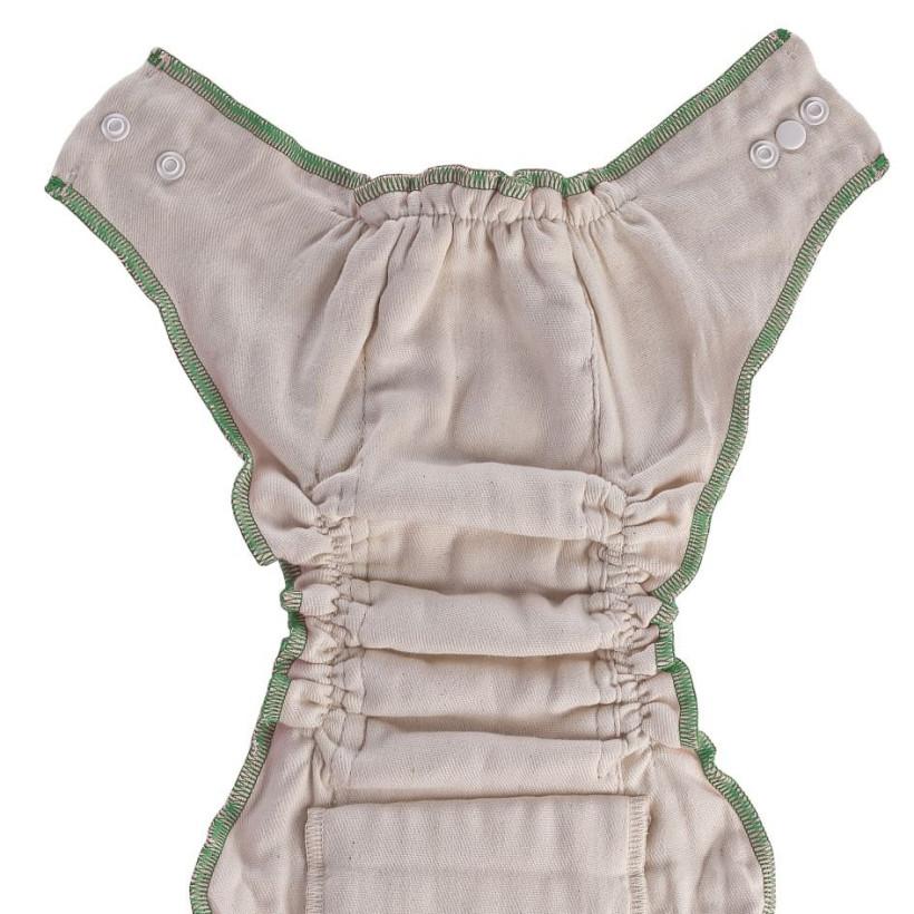 Plenkové kalhotky XKKO Organic - Natural Velikost L