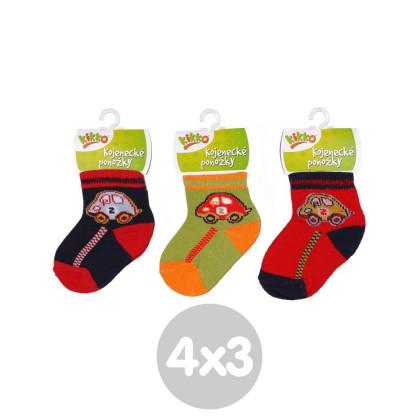 Ponožky KIKKO Classic Typ 50 12 párů
