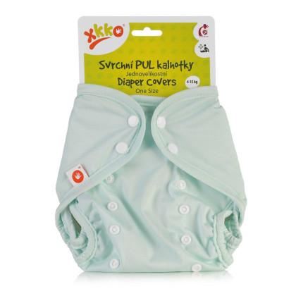 Svrchní PUL kalhotky XKKO One Size - Pastel Mint