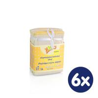 Vícevrstvé plenky XKKO (4/8/4) - Newborn Natural 6x6ks VO bal.