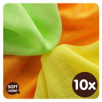 Bambusové ubrousky XKKO BMB 30x30 - Colours MIX  10x9ks VO bal.