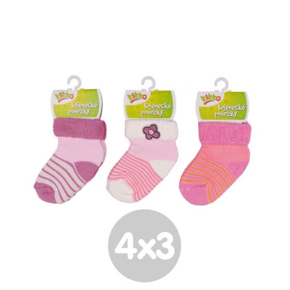 Ponožky KIKKO Classic Typ 39 12 párů