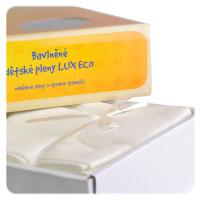 Vysokogramážní dětské pleny XKKO LUX ECO 70x70 - Natural