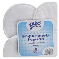 Froté vložky do podprsenky XKKO Organic - Bílé