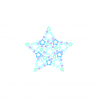 Bambusová zavinovačka XKKO BMB 120x120 - LE Modrá hvězda