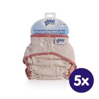 Plenkové kalhotky XKKO Organic - Natural Velikost M 5x1ks (VO bal.)