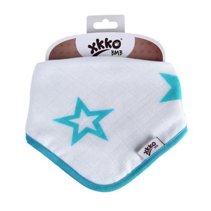 Bambusový slintáček XKKO BMB Turquoise Stars