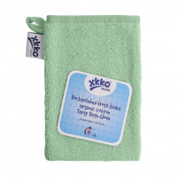 BIO bavlněná froté žínka XKKO Organic - Mint 5x1ks (VO bal.)