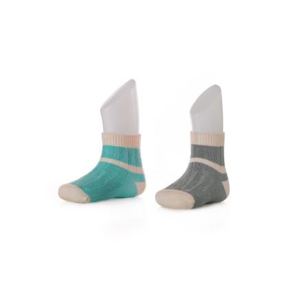 Ponožky XKKO BMB Stripes UNI - 24-36m 2páry II.jakost