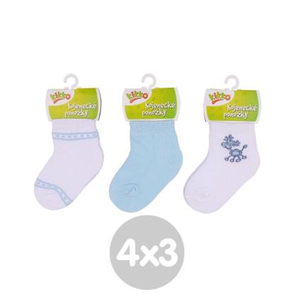 Ponožky KIKKO Classic Typ 37 12 párů