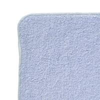 BIO bavlněné froté ubrousky XKKO Organic 21x21-  Baby Blue