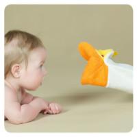 XKKO Žínka s maňáskem (PE) - Kuřátko