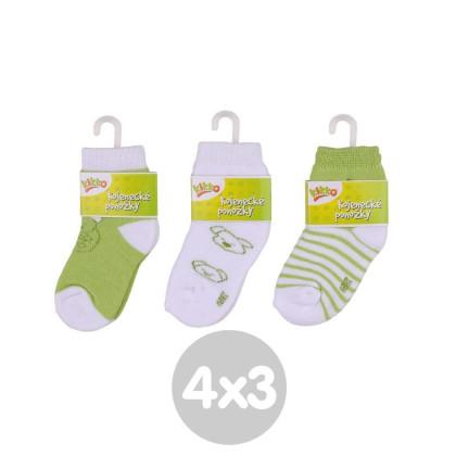 Ponožky KIKKO Classic Typ 57 12 párů