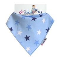 Dribble Ons Designer Blue Stars